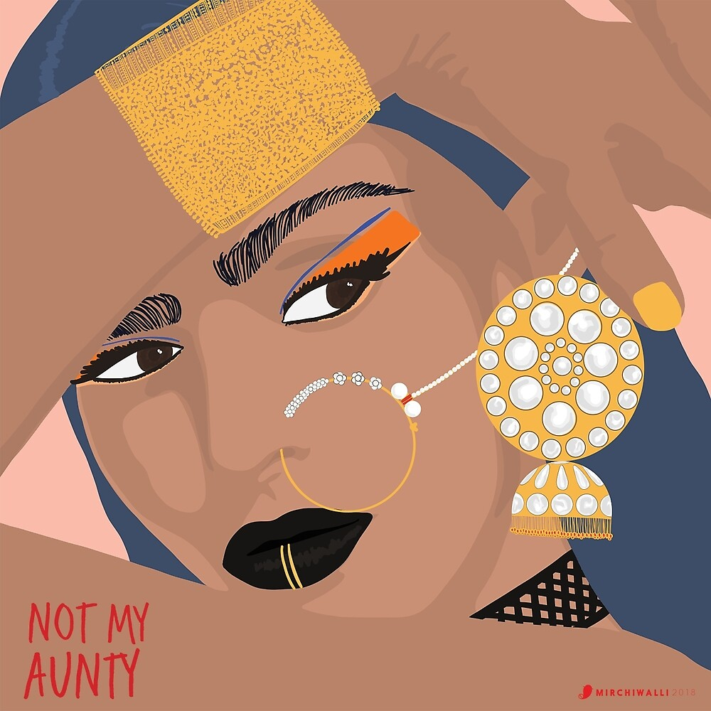 Not My Aunty by thesunnyside