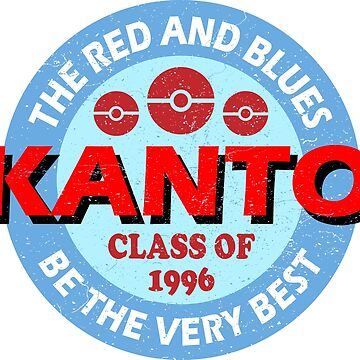 KANTO CLASS OF '96 by thefiddler
