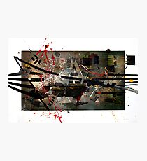 Abstract Expressionism Photographic Print
