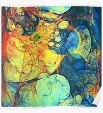 Abstract composition 187 Poster