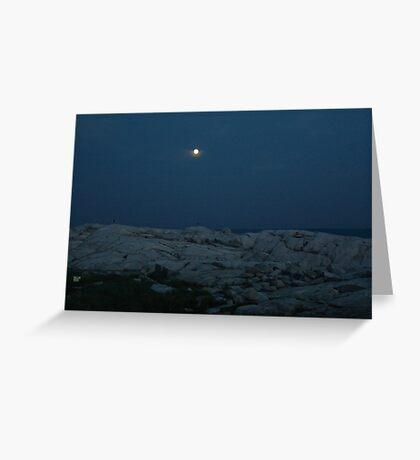Neath the Silvery Moon Greeting Card