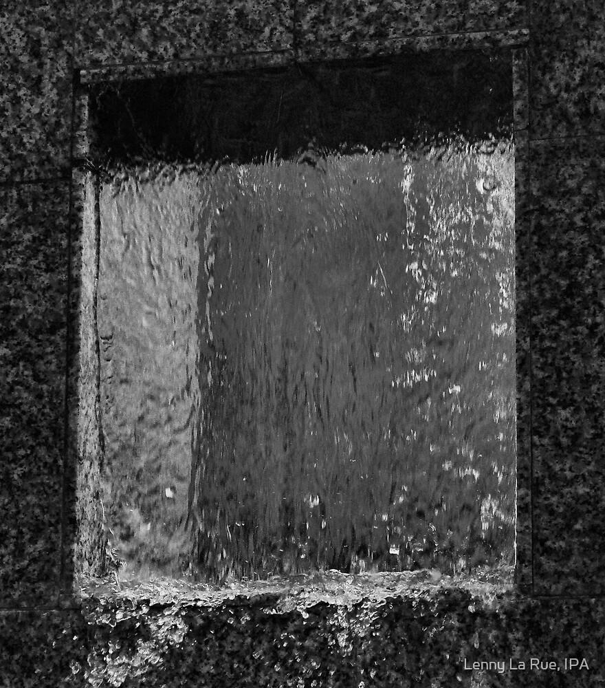wet window two by Lenny La Rue, IPA