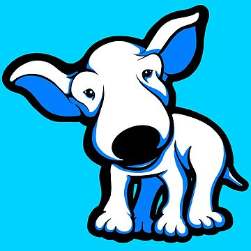 EBT Puppy Blue and White by Sookiesooker