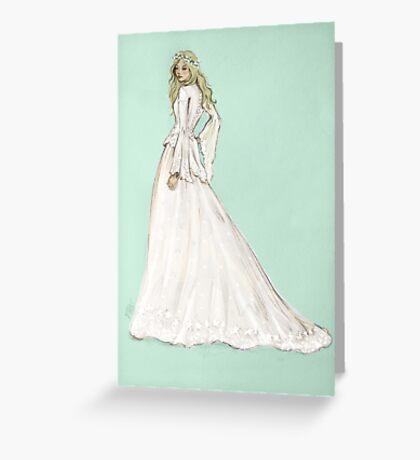 Lady Emma Greeting Card