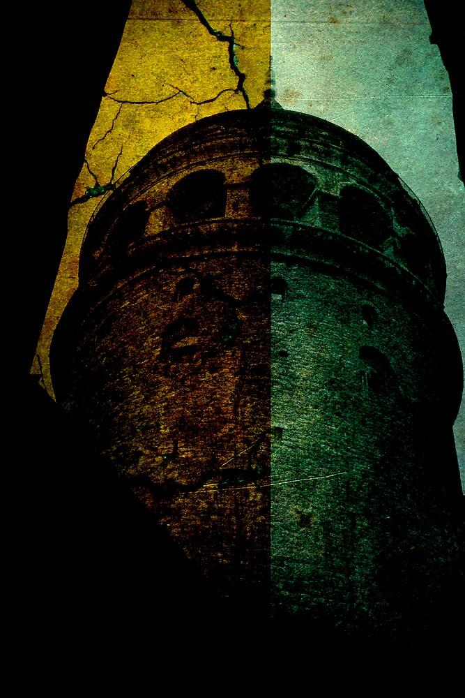 Galata Tower Grunge by oreyo