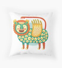 Winged Sheep Throw Pillow