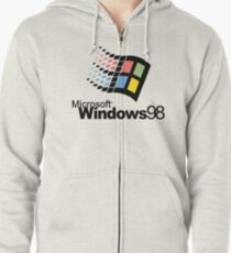 Windows 98 Zipped Hoodie