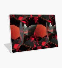 SMOKY ORANGE GARNET GEMS Laptop Skin