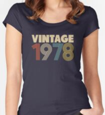 40th Birthday Women's Fitted Scoop T-Shirt