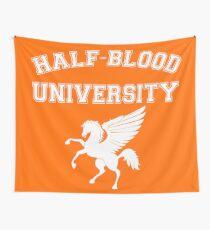 Half-Blood University - White Wall Tapestry