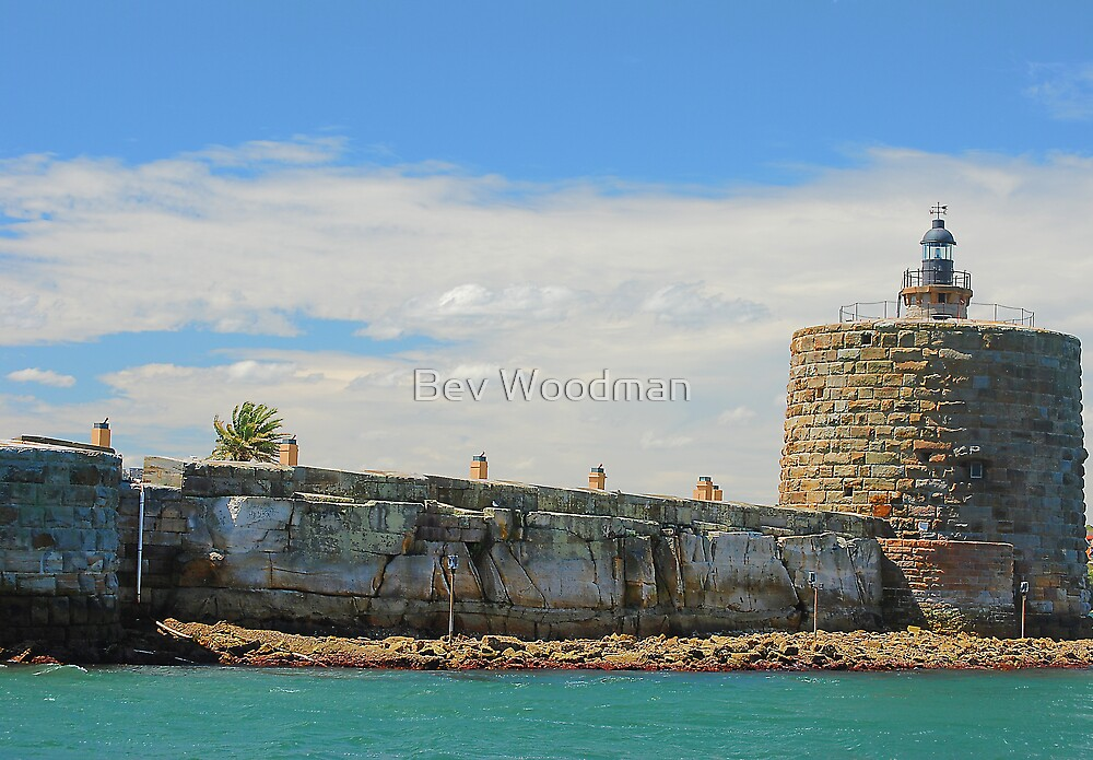 Fort Denison - An Island in Sydney Harbour NSW Australia by Bev Woodman