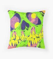 Zombie Draw Throw Pillow