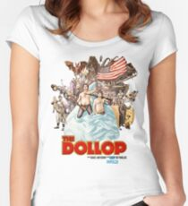 The Dollop 2014 - (T-Shirt) Women's Fitted Scoop T-Shirt