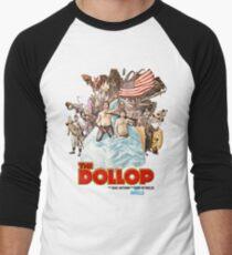 The Dollop 2014 - (T-Shirt) Men's Baseball ¾ T-Shirt