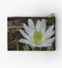 Drenched Windflower Studio Pouch