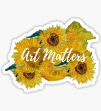 Art Matters - Van Gogh  Sticker