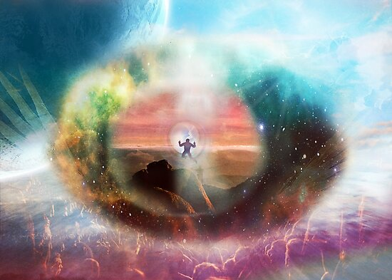 Through the Eye of God by JuliaKHarwood