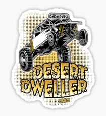 Dune Buggy Desert Dweller Sticker