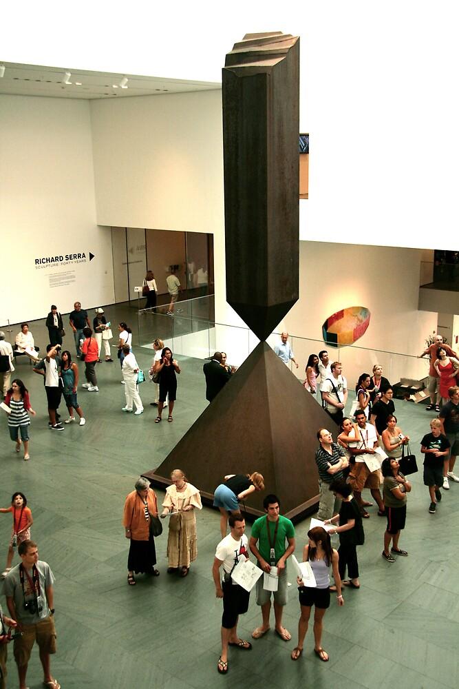 A foyer at MOMA  by garryr
