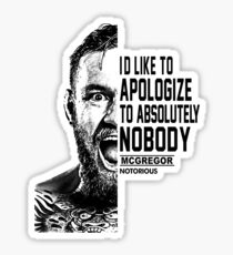 mcgregor Sticker