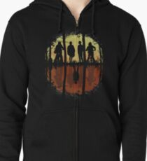 Friends Don't Lie -Eleven, Stranger Things Zipped Hoodie