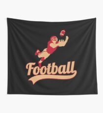 Cool American Football T Shirt Gift For American Football Lovers Wall Tapestry