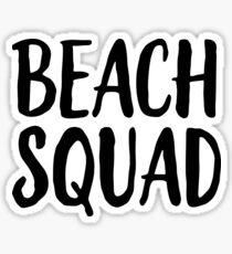 Beach Squad Sticker