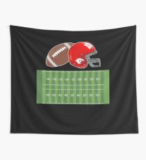 American Football T Shirt Gift Wall Tapestry