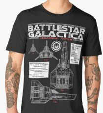 plant battlestar Men's Premium T-Shirt