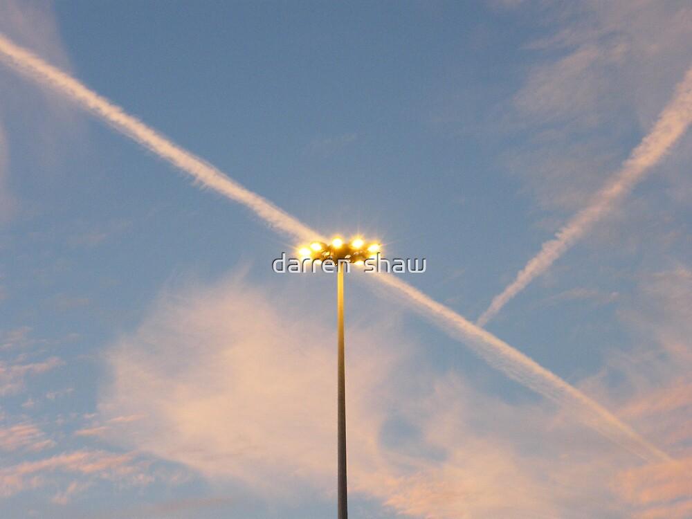 sky lights by darren  shaw