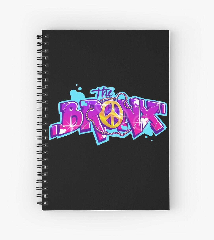 Cuadernos de espiral «El Bronx NYC New York Hip-hop Rap Graffiti ... c1334552623