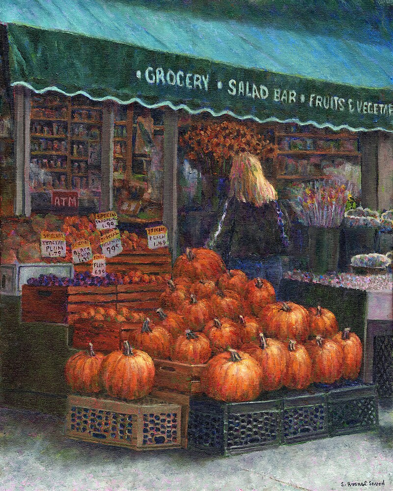Pumpkins for Sale by Susan Savad