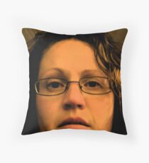 The Devil In Me ... Throw Pillow