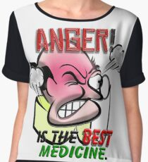 Anger is the Best Medicine Chiffon Top