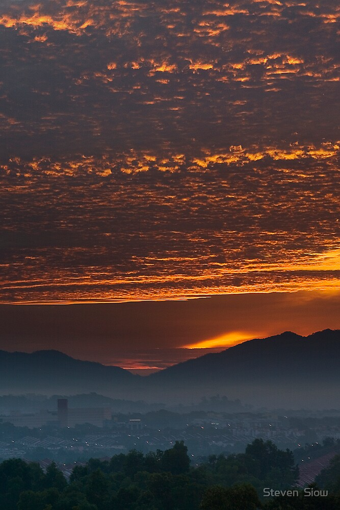 Awesome Morning by Steven  Siow
