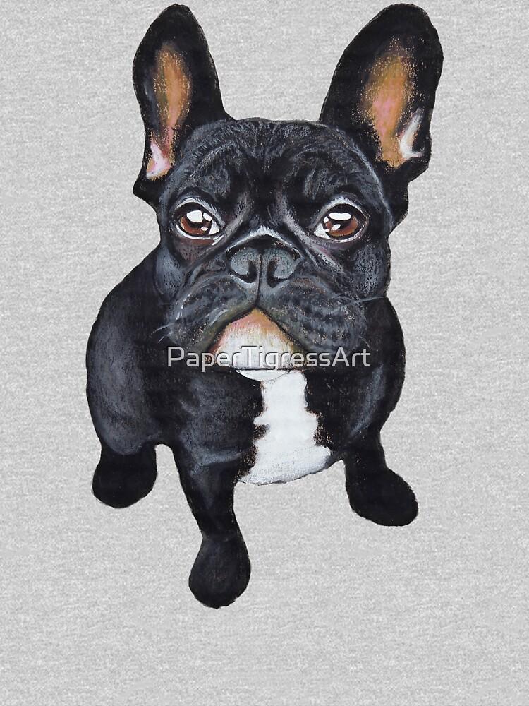 French Bulldog by PaperTigressArt