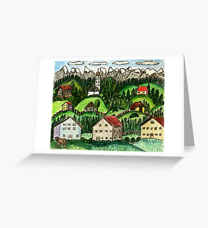 Hill Contry Greeting Card