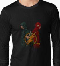 Green Arrow and The Flash Long Sleeve T-Shirt