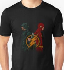Green Arrow and The Flash Unisex T-Shirt