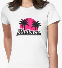 Mallorca Women's Fitted T-Shirt