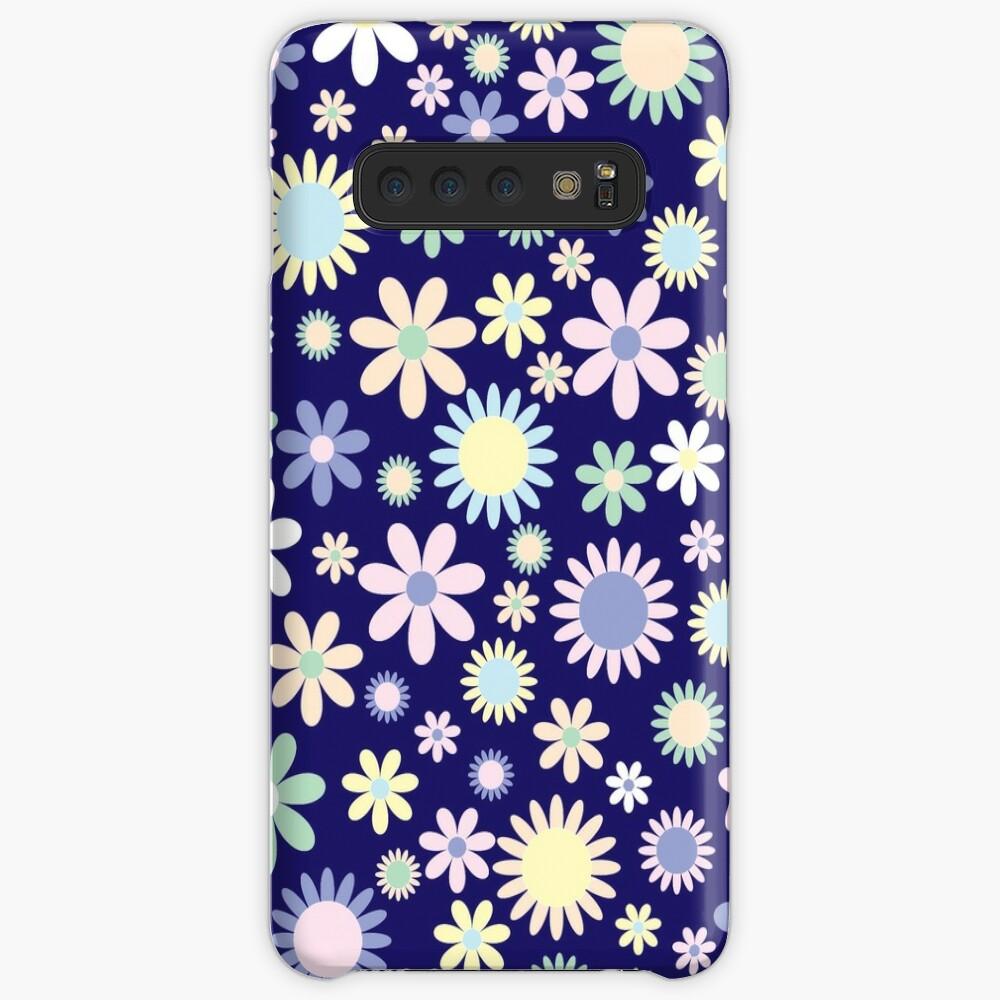 Blumenzusammensetzung Hülle & Klebefolie für Samsung Galaxy