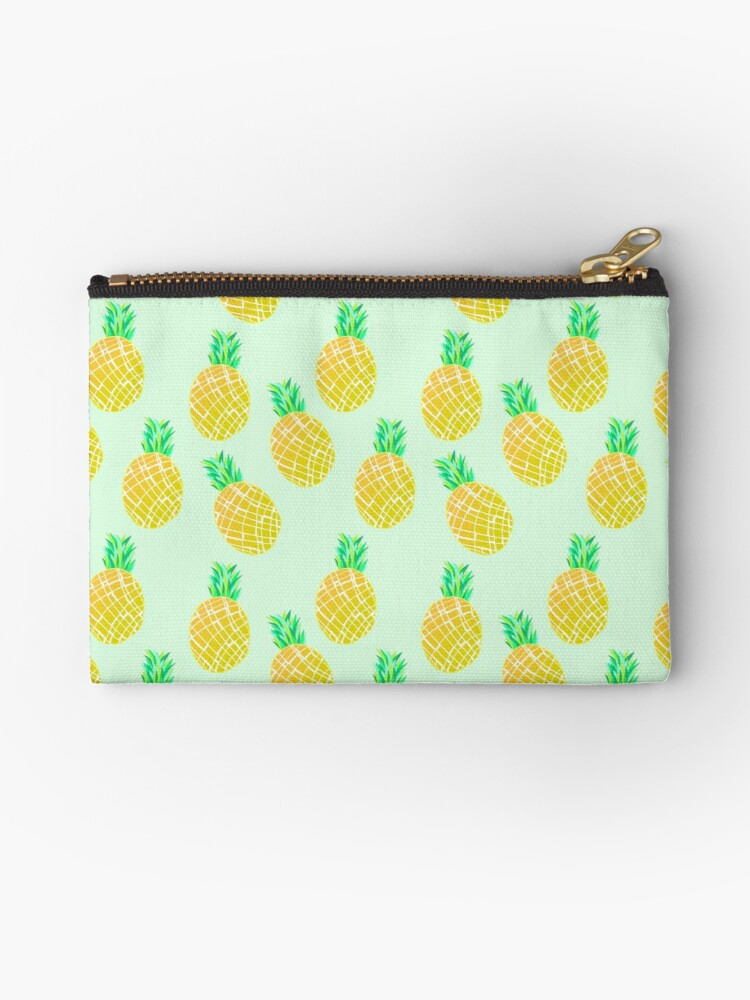 Green Pineapple Pattern by JustTheBeginning-x .com