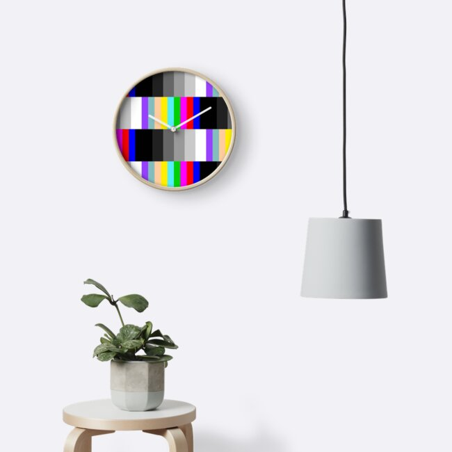 TV TESTSCREEN RETRO PATTERN by asymmetrickid