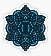 Code Mandala - React Framework Sticker