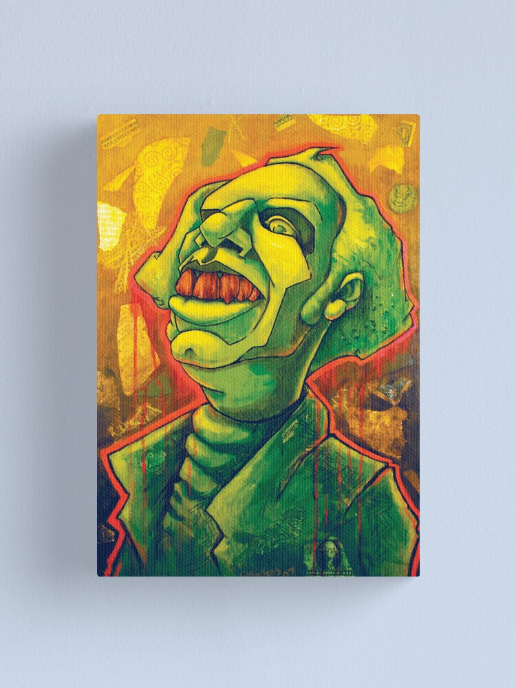 Alternate view of The Amighty Dollah Canvas Print