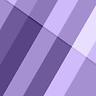 Ultra violet purple modern geometric lines by PLdesign