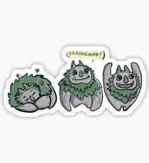AAARRRGGHH! Trollhunters Sticker