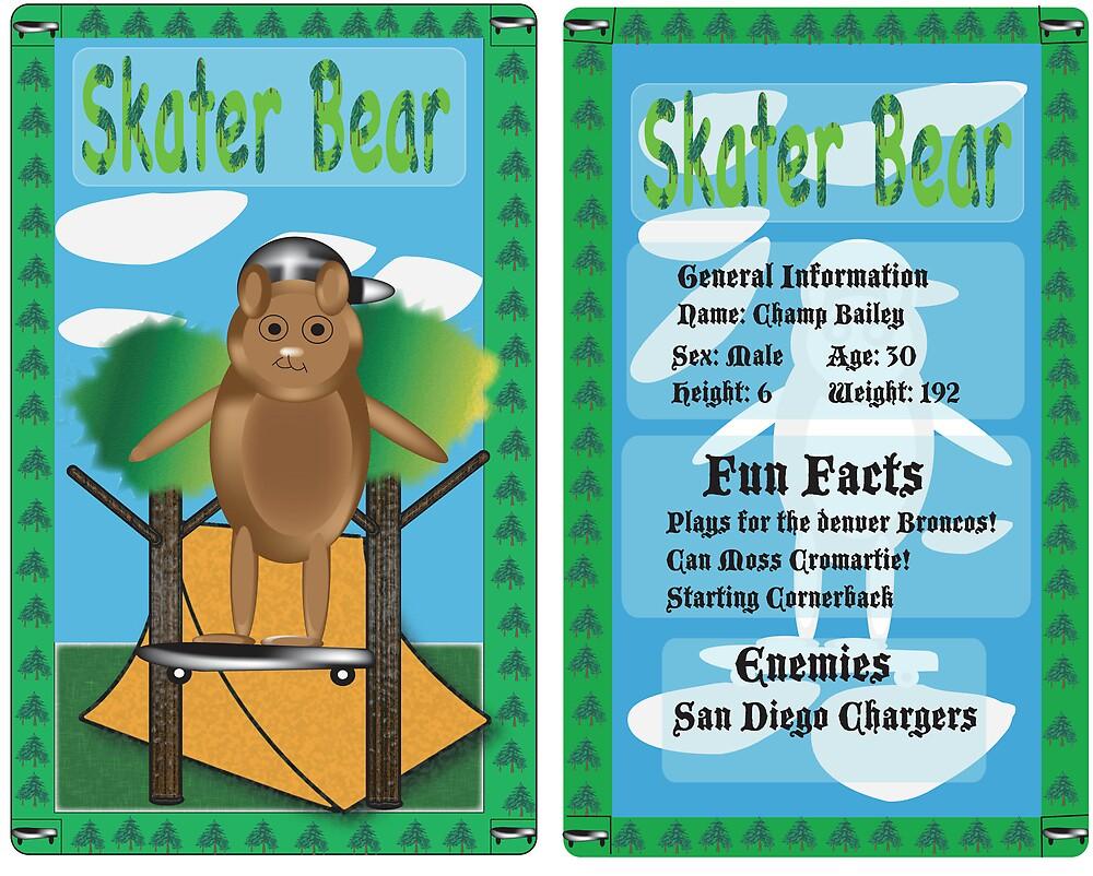 Skater Bear by Grigory Trotsenko