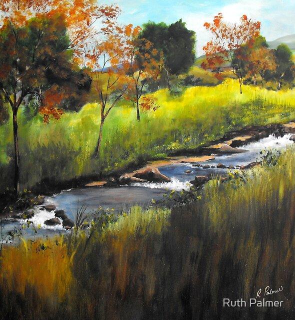 Rocky Stream by Ruth Palmer