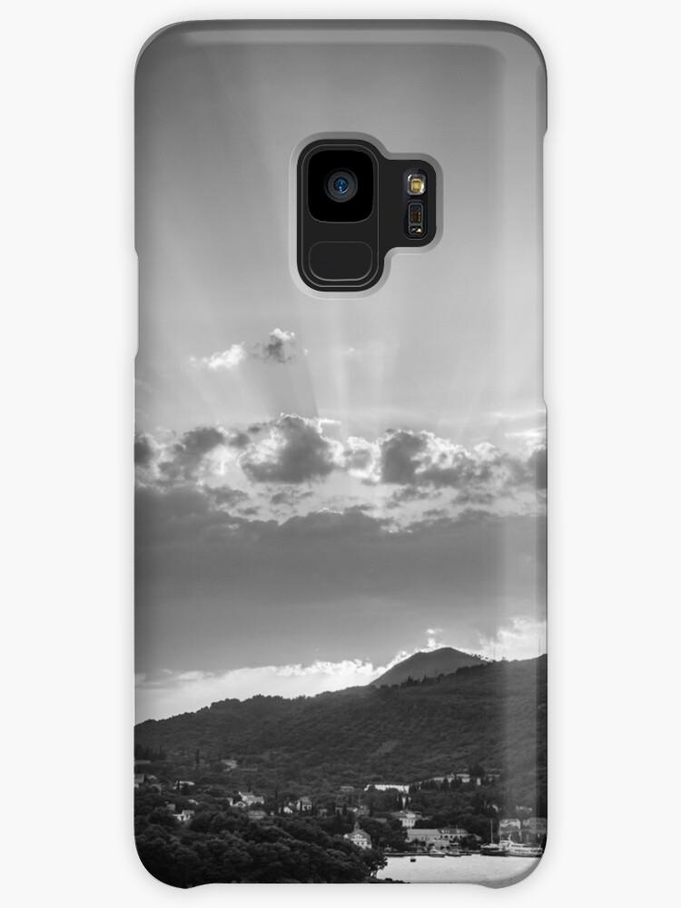 DUBROVNIK BEAMS BW [Samsung Galaxy cases/skins] by Matti Ollikainen